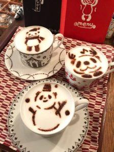 パンダだらけの珈琲店に行ってみよう