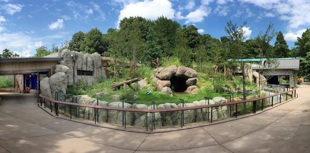 新ジャイアントパンダ舎「パンダのもり」