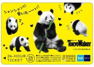 シャンシャンデザインの24時間券で東京メトロに乗ろう。