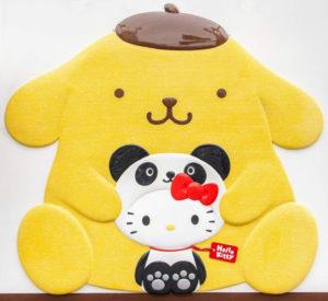 サンリオギフトゲート上野店に、かわいいパンダが大集合!